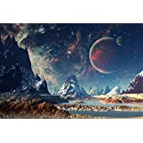 A1Astronaut Poster Art Print 60 x 90cm 180gsm Space Earth Planet Gift #8598