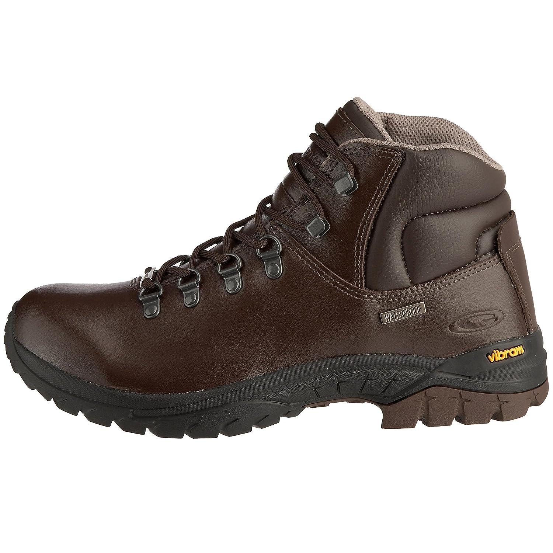 piękno buty na tanie zniżka Hi-Tec Coniston Waterproof, Men's Hiking Boots Brown