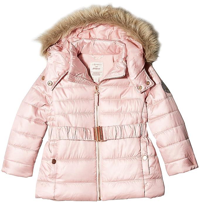Esprit RK44023-Abrigo Niñas Rosa (Old Pink 320) 8 años (Tallas De