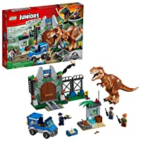 Deals on LEGO Juniors T. rex Breakout 10758 Building Kit 150 pieces