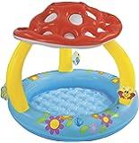 babypool baby pool ca 100 x 80 cm mit berdachung und aufblasbarem boden babypool baby pool. Black Bedroom Furniture Sets. Home Design Ideas