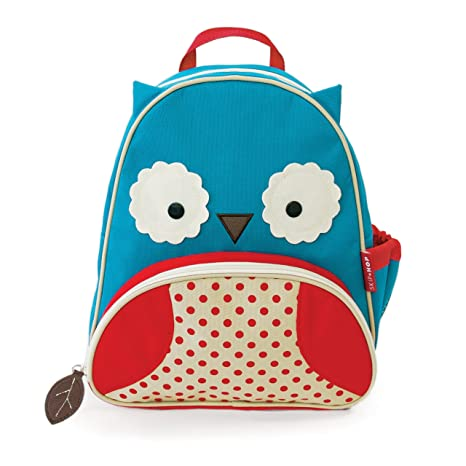 Amazon.com: Skip Hop Zoo Little Kid and Toddler Backpack, Otis Owl ...