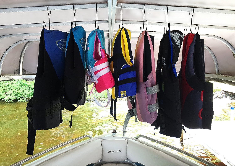 Life Jacket Hanger, Storage  Life Preserver, Life Vest Hanger U0026 Storage, Life  Jacket Dryer, Drying Rack, Drying Hangers (Set Of 5 Hangers); Boating  Hanger ...