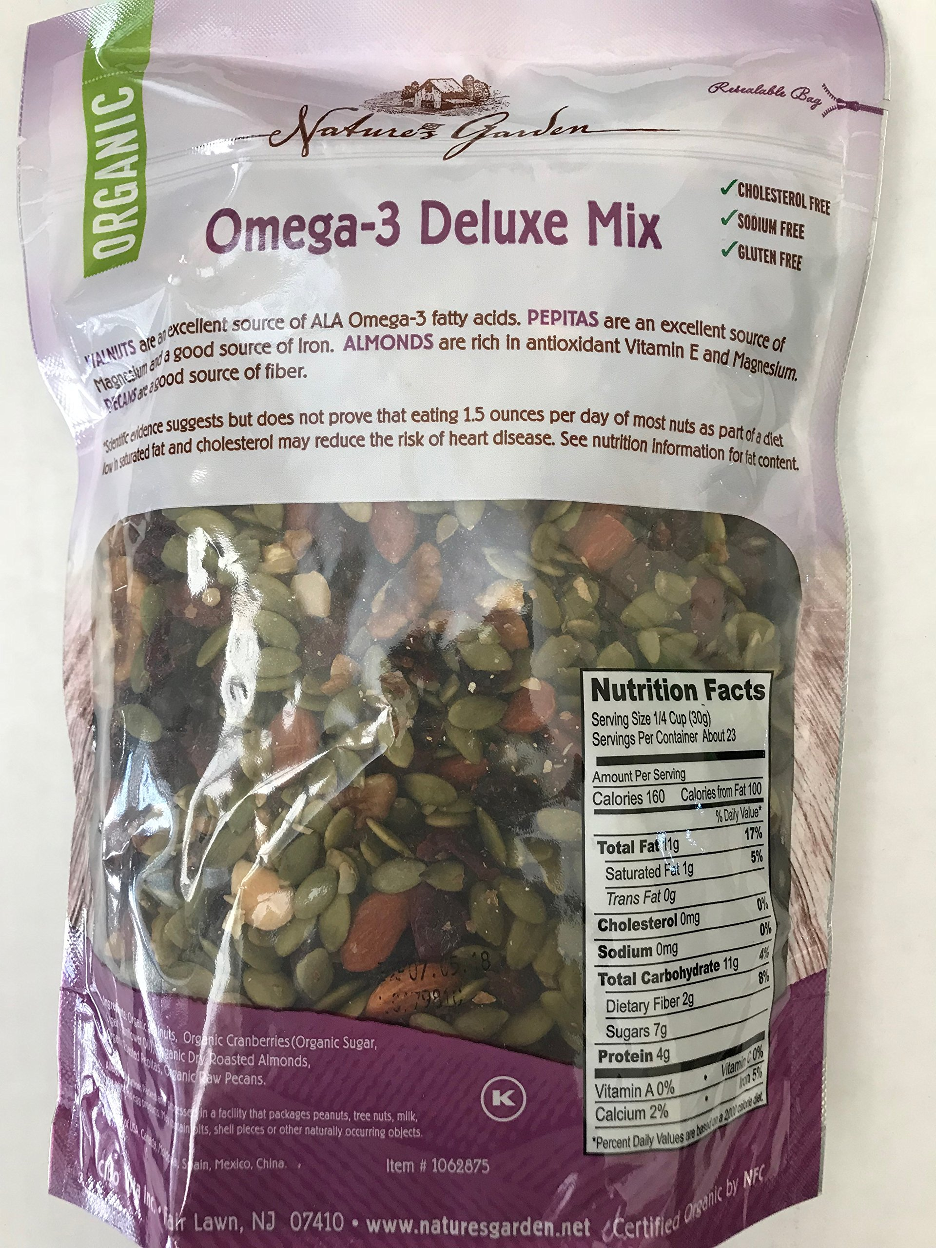 Nature's Garden Omega-3 Delux Mix by Nature's Garden (Image #2)