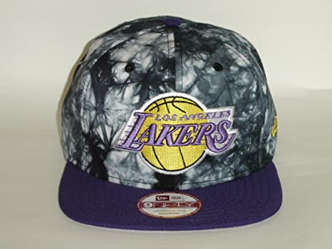 new style 91f12 044d6 Image Unavailable. Image not available for. Color  New Era 9Fifty NBA Los  Angeles Lakers 2 Tone Panit Brush Snapback Cap Retro NewEra