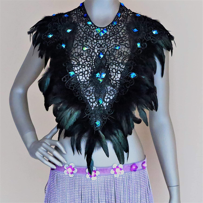Adult cake smash womens feather tutu elastic waist edc carnival rave burning man photo prop