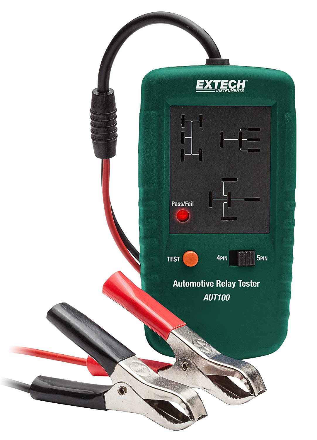 Amazoncom Extech AUT Automotive Relay Tester Home Improvement - How to test 12v 5 pin relay