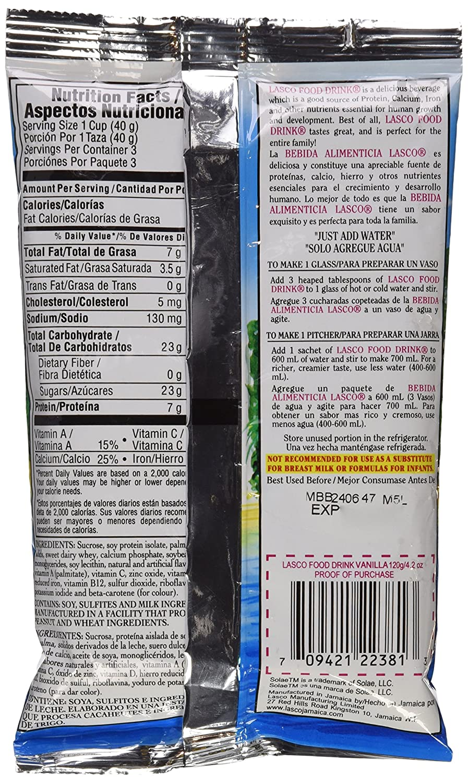 Lasco Food Drink (Chocolate, 4.2 oz)
