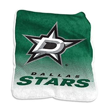 Image Unavailable. Image not available for. Color  NHL Dallas Stars Plush  Raschel Throw with Large Logo Blanket ... 809f4afe3