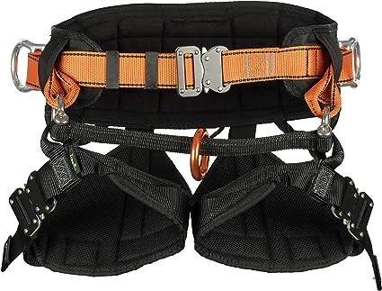 Arnés cinturón TreeUp TH 030 naranja talla M-XL de la correa del ...