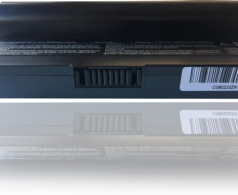 Batería NewNet para Asus 7.4 V 6600 mAh 1001PQ Serie Eee PC 1200 ...