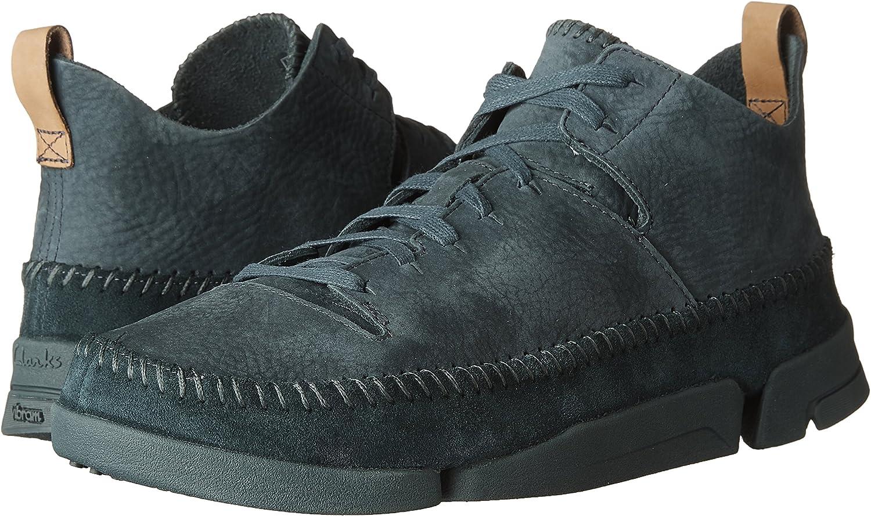 CLARKS Mens Trigenic Flex Nubuck Sneakers