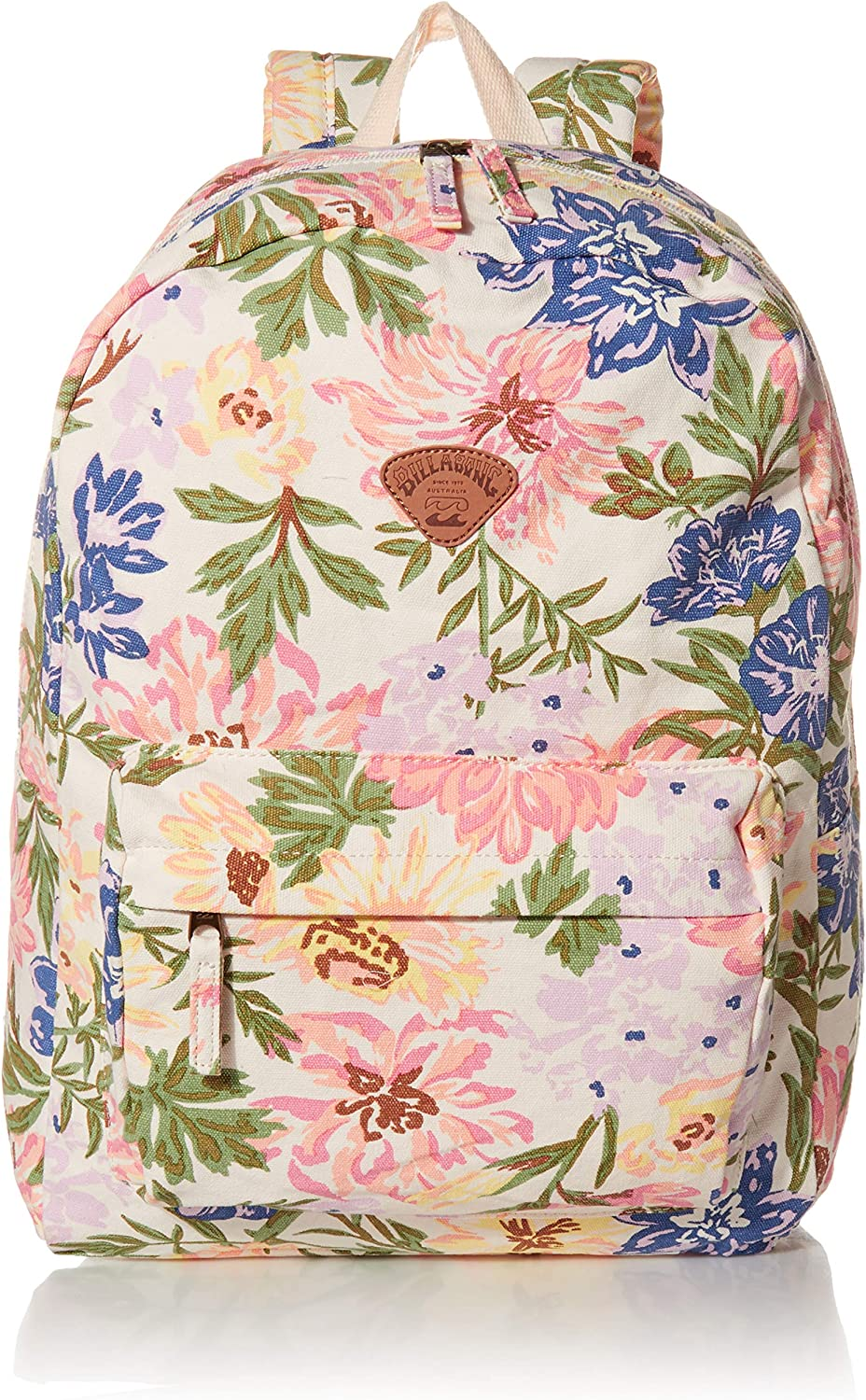 Billabong Women's Schools Out Canvas Backpack, White/Multi, ONE