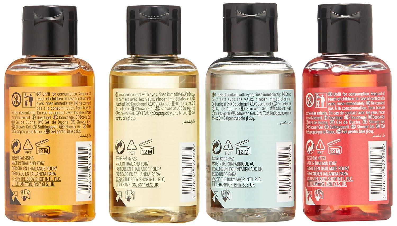 Amazon.com : The Body Shop Jingle Gel Rock Shower Gel Discovery ...