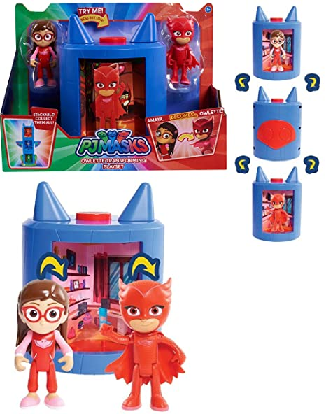 PJ Masks - TRANSFORMING OWLETTE FIGURE - Perfect Choice for Every PJ Masks Fan!