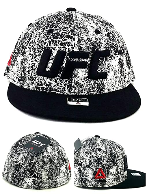 d56eda47 Amazon.com : Reebok UFC New MMA Fighters Flex Black White Cracked ...