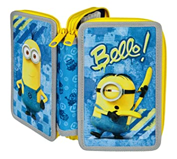 scooli mnrs0433 Minions sí estuche doble: Amazon.es ...