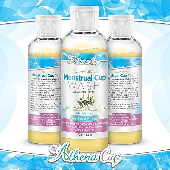Athena - Lavadora menstrual hipoalergénica para tazas