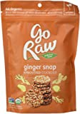 Go Raw Freeland Super Cookies, Ginger Snaps, 3-Ounce Bags (Pack of 6) ,Packaging May Vary