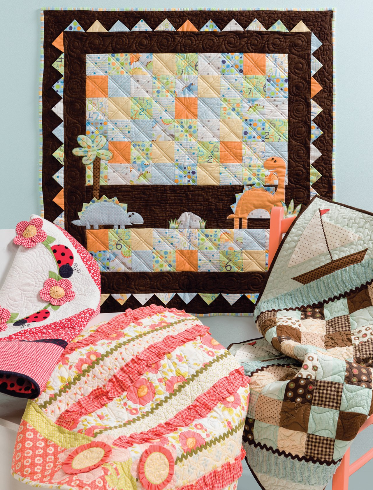 Cute Quilts for Kids: Kristin Roylance: 9781604682564: Amazon.com ... : quilting with kids - Adamdwight.com