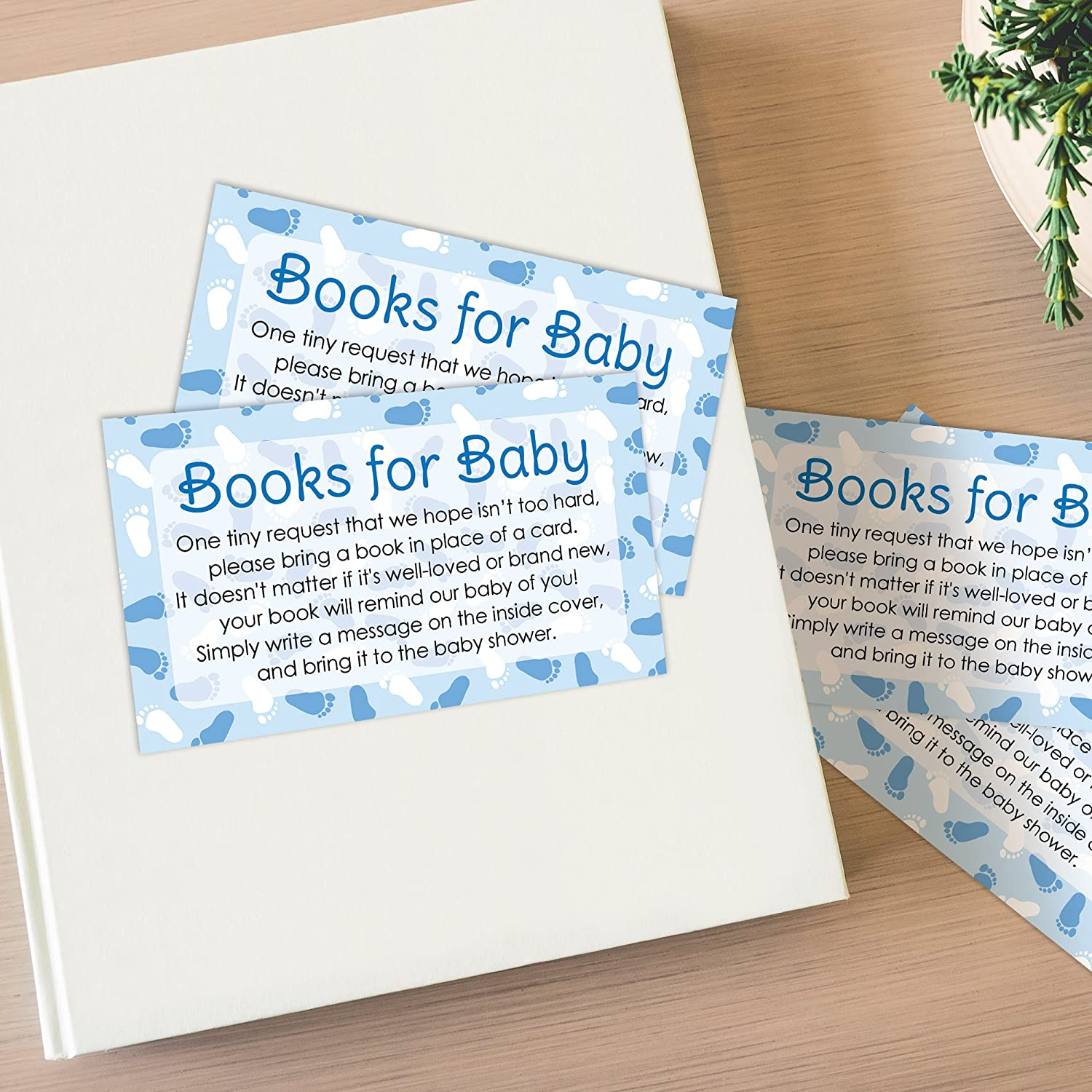 Amazon Books For Baby Request Cards Boy Baby Shower