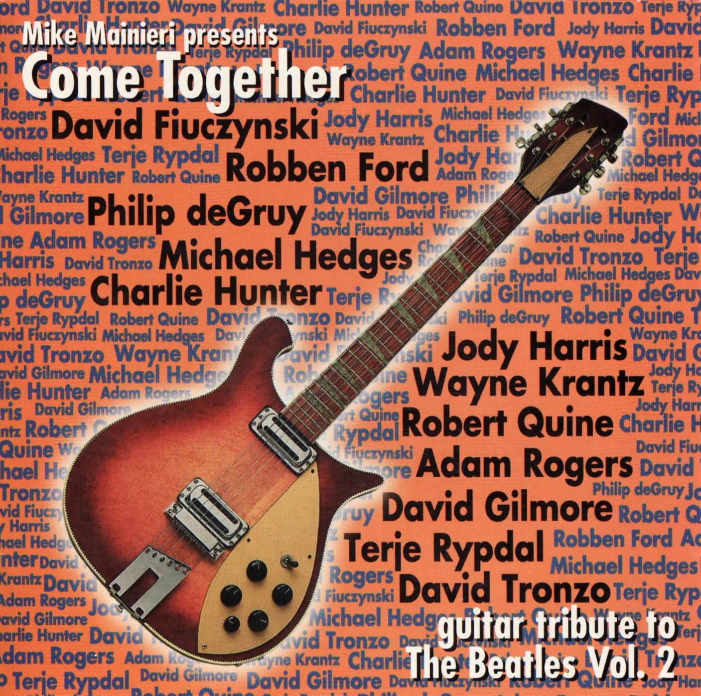 Various Artists Come Together Guitar Tribute To The Beatles Vol