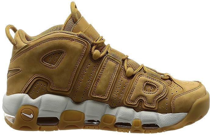 wholesale dealer f9afc 1492c Nike Mens Sneakers Air More Uptempo 96 Wheat Premium NBA Retro Scottie  Pippen: Amazon.co.uk: Shoes & Bags