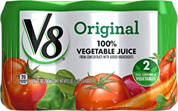 24-Pack V8 100% 11.5oz Vegetable Juice