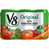 V8 100% Vegetable Juice, Original, 11.5 Ounce, 6 Count (Packaging May Vary)