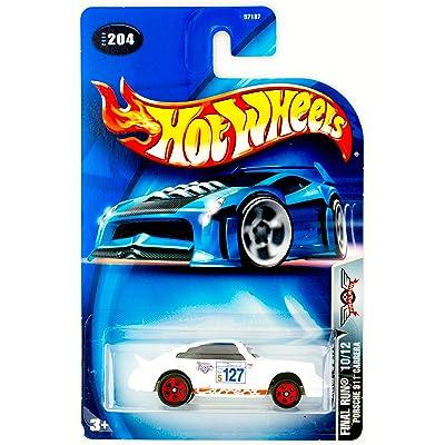 Hot Wheels 2003 Final Run Porsche 911 Carrera 10/12 WHITE #204 1:64 Scale: Toys & Games