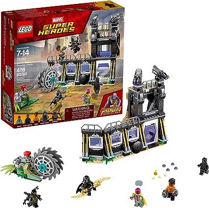LEGO-E 76103 Marvel Infinity War Corvus Glaive Thresher Attack NIB Sealed