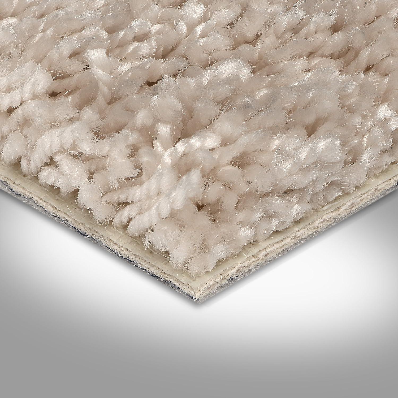 Variante: BODENMEISTER BM72231 Teppichboden Auslegware Meterware Hochflor Shaggy Langflor Velour beige 400 und 500 cm breit verschiedene L/ängen 3,5 x 5 m