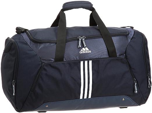 6fbe522d453bb Adidas 3 Stripes Essentials Teambag M Sporttasche   V86896 Farbe   Darknavy Black  Amazon.de  Bekleidung