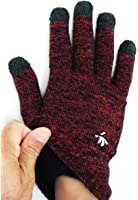 SwypeGloves Dual tone Red/Black - 'Great Barrier Reef' Touchscreen Gloves (Red)