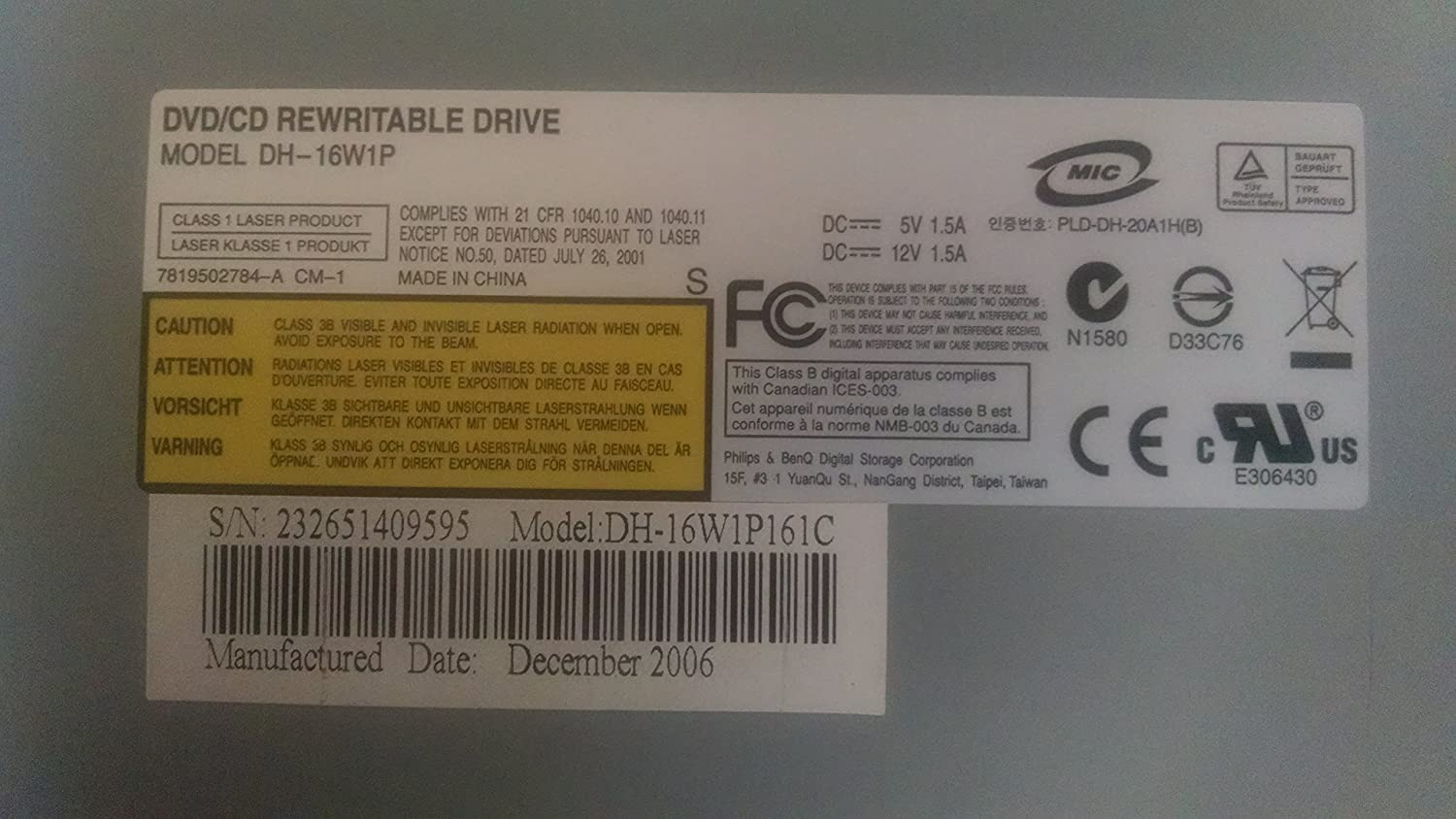 DH-16W1P DRIVER FOR PC