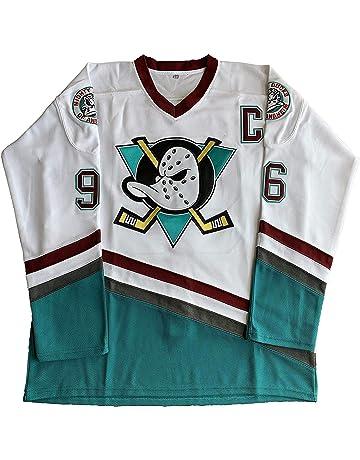 Gmjay Adam Banks # 99 Mighty Ducks Eishockey Movie Hockey Trikot S-XXXL