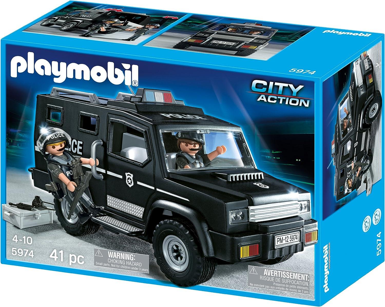 PLAYMOBIL Todo Terreno Policia: Amazon.es: Juguetes y juegos