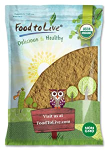 Organic Ginger Root Powder, 16 Pounds - Non-GMO, Kosher, Bulk, Raw Ground Ginger Root, Flour