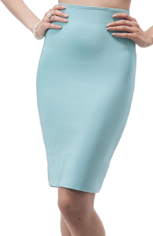 Luxe Long Pencil Skirt...