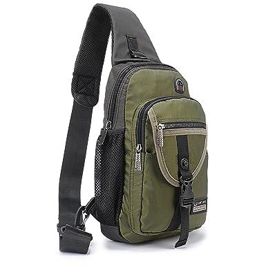 DDDH 116quot Sling Bags Crossbody BackpackChest Shoulder Pack Book Bag For Travel Outdoor