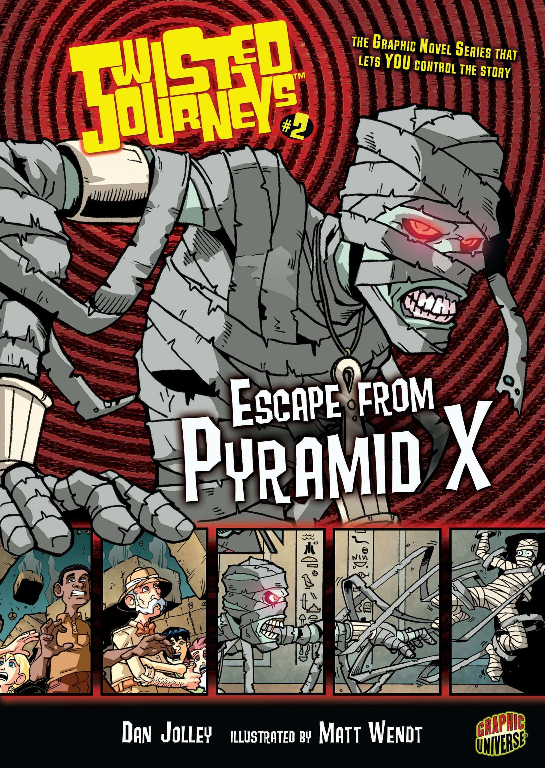 Read Online Escape from Pyramid X (Twisted Journeys) PDF