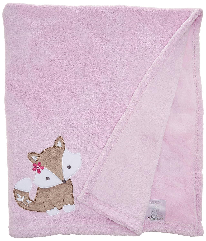 Bedtime Originals Blanket, Lavender Woods Lambs & Ivy 233034