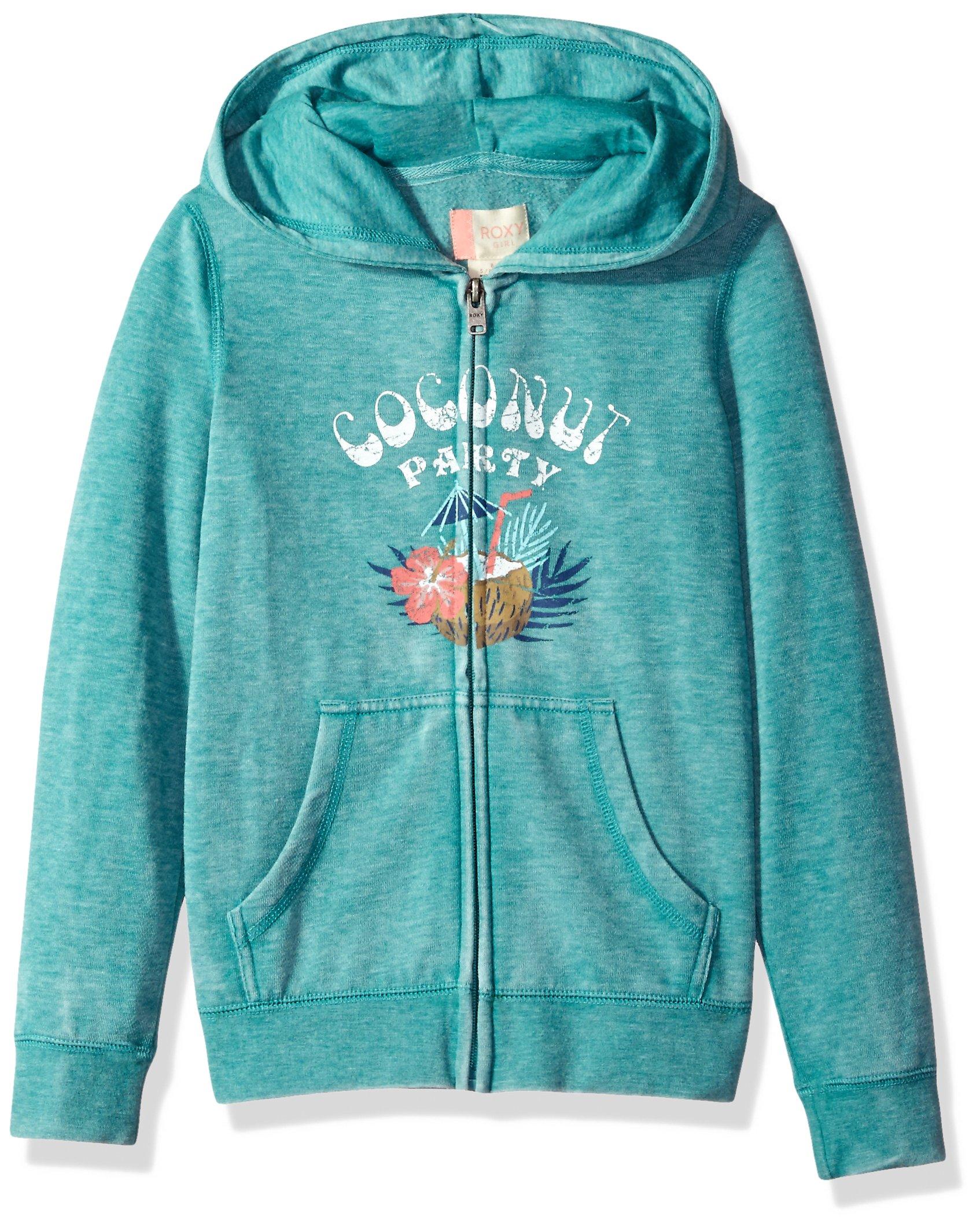 Roxy Big Girls' Fashion Fleece Sweatshirt, Latigo Bay, 8/S