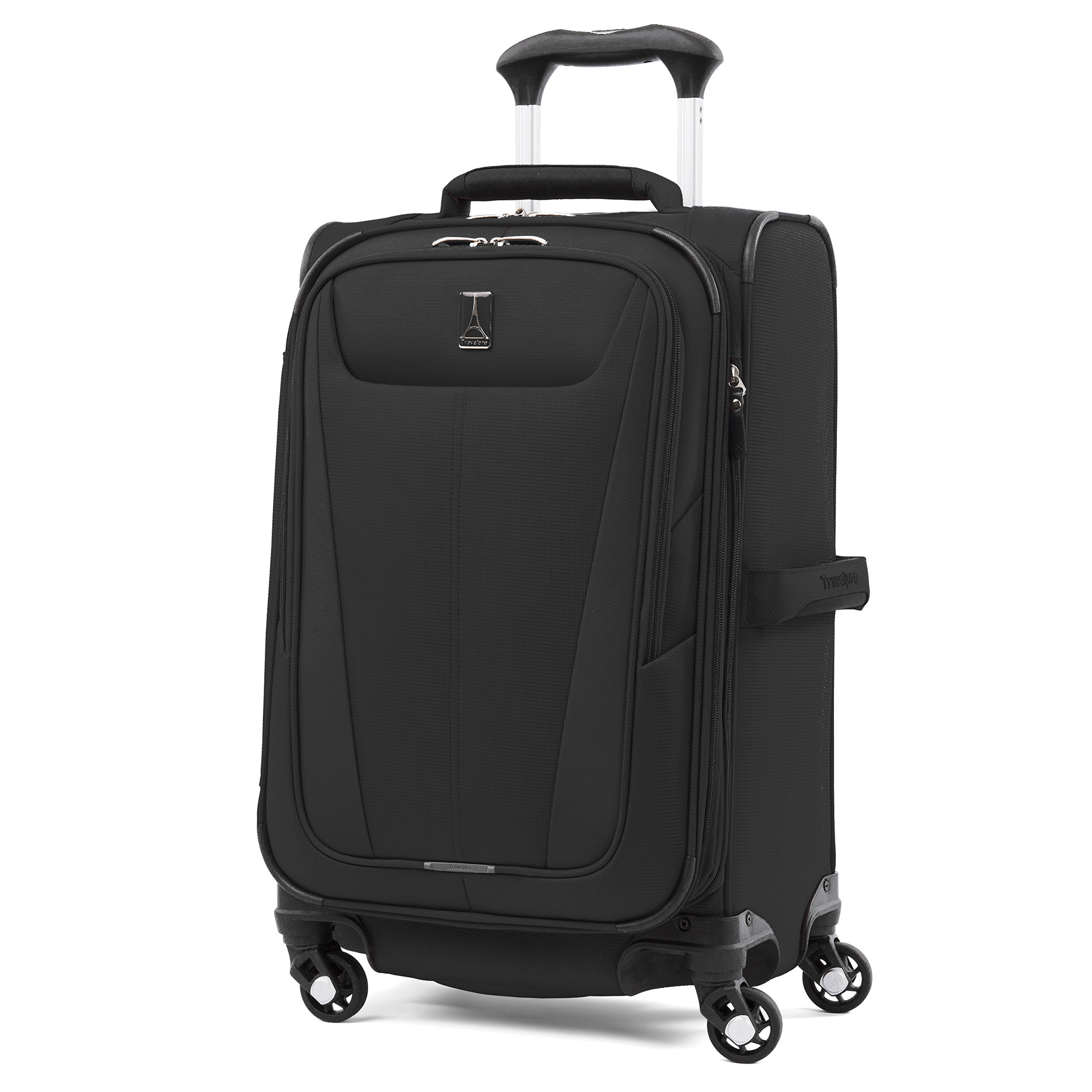 Travelpro Maxlite 5 21'' Expandable Carry-on Spinner Suitcase, Black