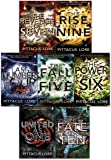 Lorien Legacies Series, 7 Books Collection Set By Pittacus Lore, (I Am Number Four, The Power of Six, The Rise of Nine, The Fall of Five, The Revenge of Seven, The Fate of Ten, United As One)