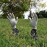 Kangaroo Lawn Zombie Hands; Scary Halloween Decorations