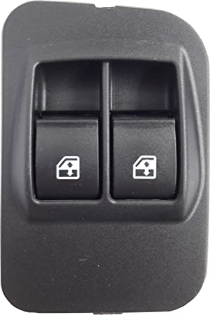 TarosTrade 12-0949-L-94756 Window Regulator Switch Front Double With 8 Pin Connector