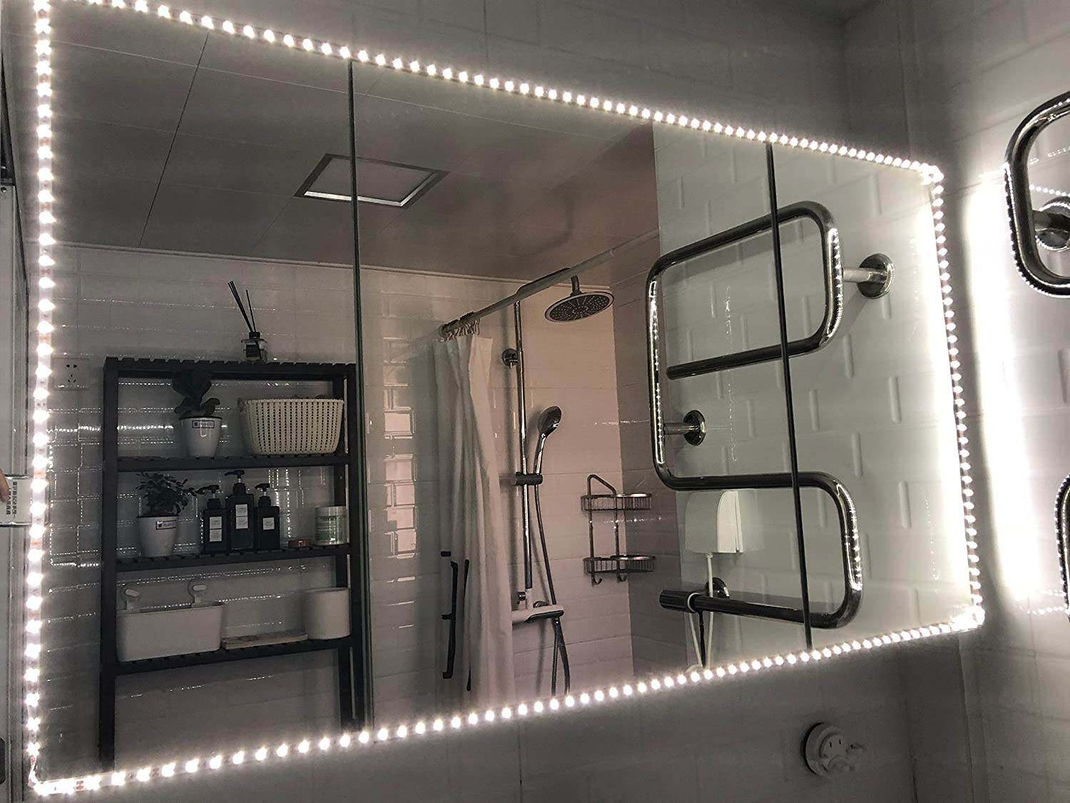 Mirror not Included 13ft//4M Make-up Vanity Mirror Light kit for Makeup Dressing Table Vanity Set Mirrors with Dimmer and Power Supply by Rich Home Supplies Led Vanity Mirror Lights