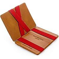 JAIMIE JACOBS ® Magic Wallet Flap Boy Slim - The Original - Slim Wallet, RFID Blocking Wallet, Genuine Leather, Card…