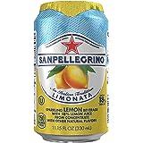 Sanpellegrino Lemon Sparkling Fruit Beverage, 11.15 fl oz. Cans (24 Count)